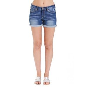 Dear John Ava High Rise Denim Shorts